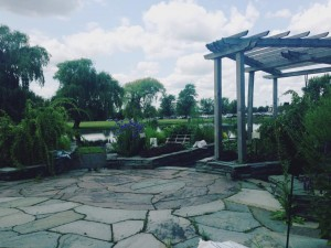 Emily Andrews FLSAOM Herb Garden 2014