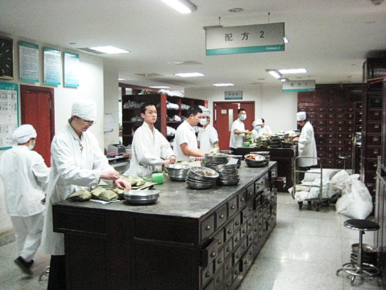 Dana-Carruth-LAc-China-Trip-Huang-Zhou-Hospital-Dispensary-2