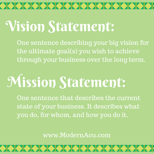 mission statement for business