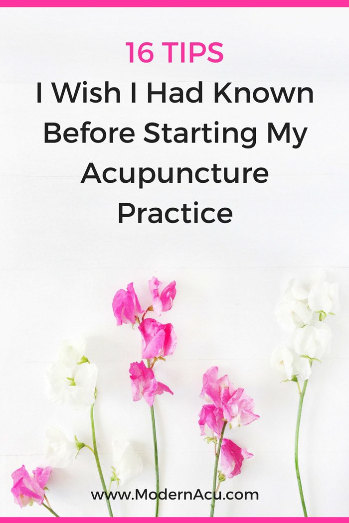 All the things I wish I'd known about running an acupuncture practice before I opened up shop back in 2010. Learn from my mistakes and get ready to crush this entrepreneurship thing ;) www.ModernAcu.com