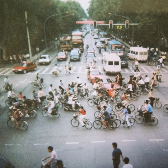 Nanjing 1999 - Who has the right of way?