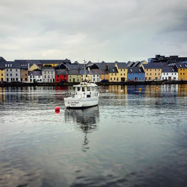 The city of Galway, Ireland
