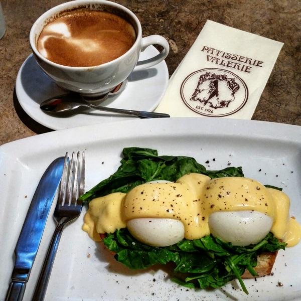 The best eggs in London, at Patteserie Valerie