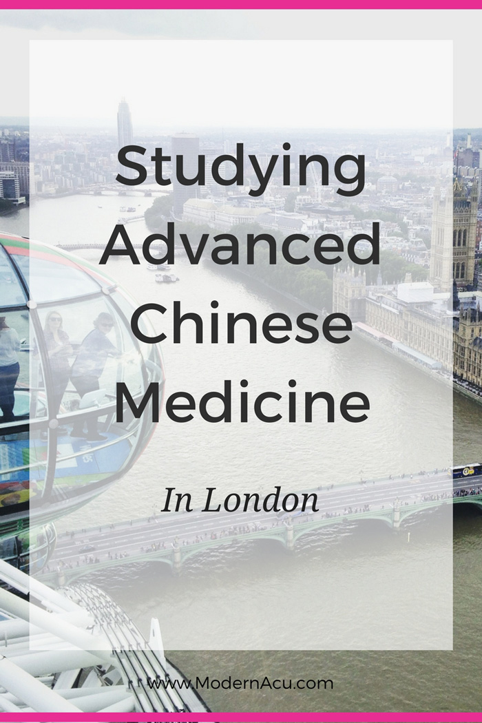 Studying Advanced Chinese Medicine Abroad in London with Mazin Al Khafaji - An interview with the owner of Zi Zai Dermatoloty. www.ModernAcu.com